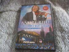 """DVD """"ANDRE RIEU : A MIDSUMMER NIGHT'S DREAM (SONGE D'UNE NUIT D'ETE)"""" violon"""