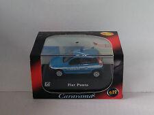 Fiat Punto Polizia Italiana italian police CARARAMA Motorama hongwell 1/72 1 72