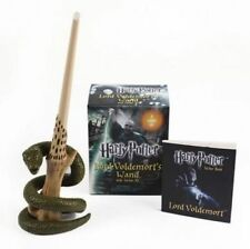 NEW Harry Potter Voldemort's Wand with Sticker Kit: Lights Up! by Running Press