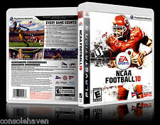 (PS3) NCAA Football 10 / 2010 (G) (American Gridiron) Guaranteed, 100% Tested