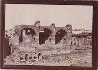 Roma Italia Foto Amateur Viaggio IN Italia 1898 Vintage Citrato Di