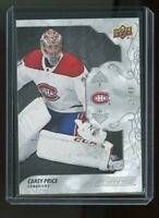 2019-20 Carey Price Upper Deck Engrained card #29  numbered 25/49
