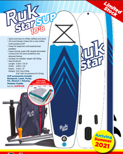 Ruk inflatable SUP Stand-up Paddleboard 10'8