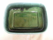 Vintage Collectible Green Agate Hull Ceramic Serving Dish OR Planter