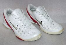 Nike Air Zoom Mystify 3 III Tennis White, Red Athletic Sneakers Shoes Womens 5.5