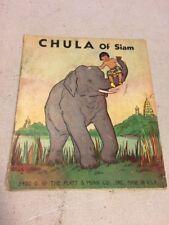ANTIQUE CHULA OF SIAM CHILDREN'S BOOK 1936