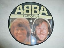 "ABBA - One Of Us - 1981 UK limited edition 7"" Picture Disc single"