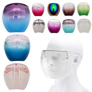 Oversized Huge Big Full Face Mask Shield Polarized Large Mirror Sunglasses A+ US