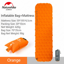 Naturehike NH가벼운 에어 매트/ 1인용-Orange(Mattress+Inflatable Bag) / 야외용 탠트 매트/방조 매트
