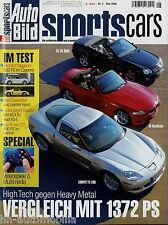 Auto Bild Sports Cars 5 06 2006 Corvette Z06 SL55 AMG Sierra RS Cosworth TechArt