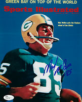 PACKERS Max McGee signed SI Cover photo 8x10 JSA COA AUTO Autograph 1st TD SB I