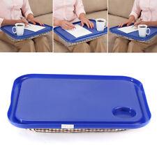 Portable Handy Lap Top Tray Holder Laptop Table Outdoor Breakfast Learning Desk