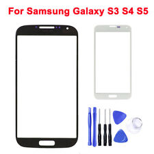 OEM Touch Screen Digitizer Glass Panel Replace For Samsung Galaxy S3 S4 S5
