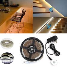 16.4ft LED Warm White Flexible Strip Light Home Decoration Motion Sensor Kit