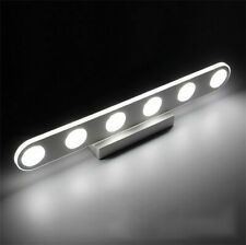 Bathroom Modern Acrylic LED Vanity Lights  Front Mirror Toilet Wall Lamp Fixture