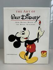 The Art of Walt Disney Hbdj Christopher Finch Large Oversize Abrams Book