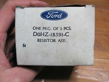 NOS Ford D0HZ-18591-C Heater Blower Motor Resistor Assembly Sterling Freightline