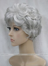 (6 colors) Short Curly Women Female Lady Hair Full Wig / Perruque #L-3041
