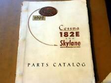 1962 Cessna 182E & Skylane  Parts manual