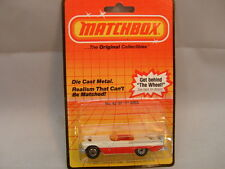 1983 MATCHBOX SUPERFAST #42 CREAM/RED 57 T BIRD THUNDERBIRD CONVERTIBLE MOC