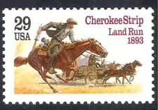 USA 1993 CHEROKEE a strisce/PIONIERI/Cavalli/Rider/carro/Trasporto/STORIA 1v n40139