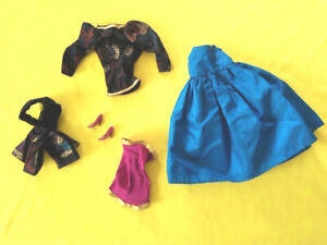 barbie vintage superstar spectacular fashions 9143 1984 abito outfit