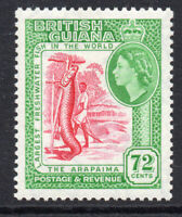 British Guiana 72 Cent c1954-63  Lightly Mounted Mint Stamp (2600)