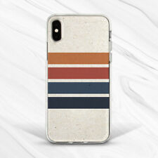 Vintage Pastel Stripes Beige Case Cover For iPhone 6S 7 8 Xs XR 11 Pro Plus Max