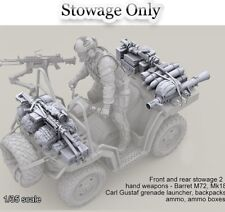Resin 1/35 US Special Forces ATV Stowage Set Unpainted Unassembled BL310
