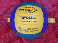 Training Volleyball Ball with Hoops for Hanging or Tethering. UK stock.