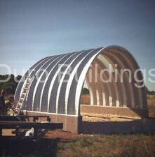 Durospan Steel 25x25x10 Metal Building Diy Home Kits Open Ends Factory Direct