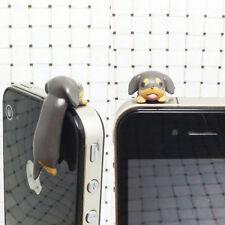 Chien Type Capuchon Bouchon Anti-poussière Cache Casque 3.5mm Phone Portable NF