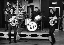 THE KINKS - VINTAGE MUSIC PHOTO POSTER - 23x33 UK IMPORT 1398