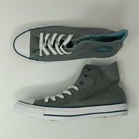 Converse Chuck Taylor All Star Hi Gray Shoes Size 8 New 162451F