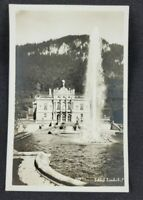 Vtg Linderhof Martin Herpich Building Postcard (Unposted)
