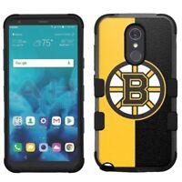 for LG Stylo 4 Armor Impact Hybrid Cover Case Boston Bruins #H