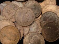 Great Britain United Kingdom 1/2 Penny  1967 BU lot of 25 BU coins   #43
