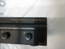 Russound SS-4.2  Impedance Matching 4 pair speaker selector