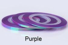 MERMAID 1mm STRIPING TAPE 20M NAIL ART - LINE STICKER ROLL - Purple (PRE-ORDER)