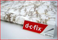 DC FIX Marble 2m x 90cm Sticky Back Self Adhesive Vinyl Contact Paper 5321