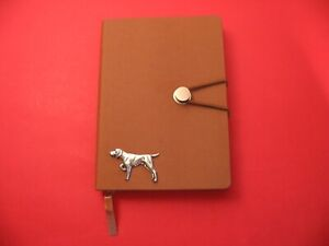 German Shorthaired Pointer on A6 Tan Journal Dog Notebook Pet Dog Pointer Gift