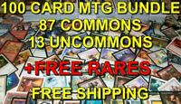MAGIC THE GATHERING 100x Cards BUNDLE - MTG - Bulk Common/Uncommon/Rare