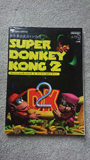 Super Donkey Kong 2 Strategy Guide - Nintendo Super Famicom/SNES - Japanese