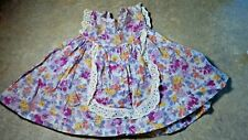Vintage! Shades of Purple Floral Dress for Composition or Hard Plastic Baby Doll