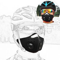Resuable Activated Carbon Half Face Cover with Filter Cycling Riding Outdoor