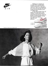 Classic 1990's Nike Air Women's Shoe Collection Vintage Print Advert