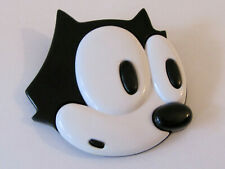 Vintage Felix The Cat Face Pin 1988 Another Determined Product Felix Productions