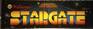 Stargate Arcade Marquee