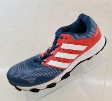 Adidas Duramo 7 Running Training Sneakers Mens Blue Orange White Shoes Size 9.5