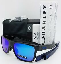 NEW Oakley Crossrange sunglasses Black Prizm Sapphire 9371-1057 Asian Fit OO9371